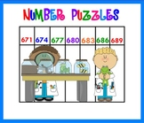 Counting NUMBER PATTERNS Puzzle SMARTBOARD