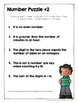 Number Puzzles - Enrichment Activities for 2nd and 3rd grade