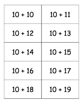 Number Puzzles 21-40