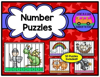 Number Puzzles - 50 PUZZLES INCLUDED!