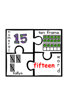What Does This Number Look Like? - Number Recognition Puzzles