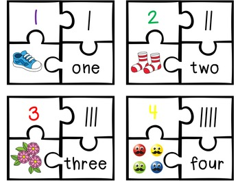 Number Puzzles {A Counting Activity}