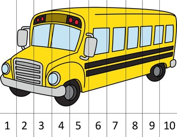 Number Puzzles - Back To School