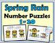 Number Puzzles 1-20 Bundle - Spring, Summer, Autumn, Winter