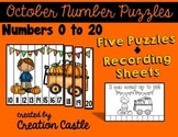 Number Puzzles Center - October
