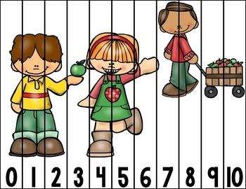 Number Puzzles Center - September