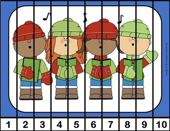 Number Puzzles - Christmas Theme