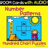 Hundreds Chart Number Patterns   Understanding Place Value   Math BOOM Cards™