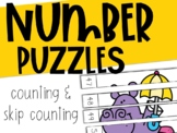 Number Puzzles: Counting & Skip Counting