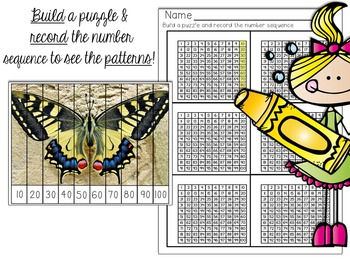 Number Puzzles: Counting & Skip Counting Activities (Insect PHOTO Edition)