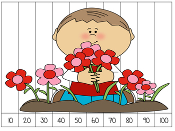 Number Puzzles: Counting by 10s