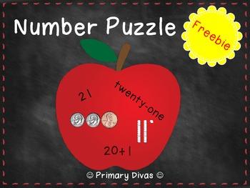 Number Puzzle *FREEBIE*