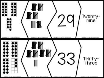 Number Puzzles Freebie