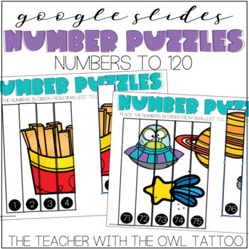 Number Puzzles (Google Slides) Distance Learning