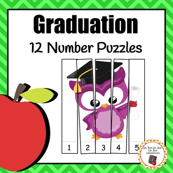 Number Puzzles: Graduation Number Puzzles