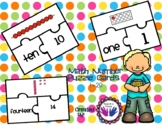 Number Puzzles- Great for Subitizing!