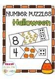Number Puzzles Halloween