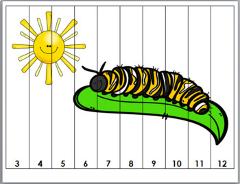 Number Puzzles - Insect Math