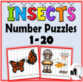 Number Puzzles 1-20 - Insect Math