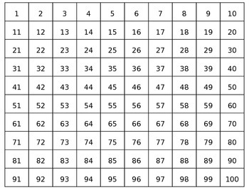 Number Puzzles - Math Station 1-1,200