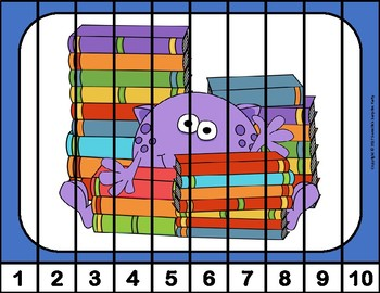 Number Puzzles - Monster Theme