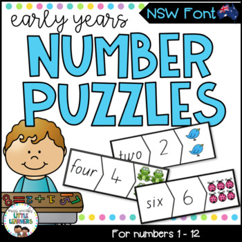NSW Foundation Font Number Puzzles