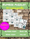 Number Puzzles: Numbers 1-30