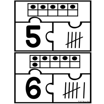 Number Puzzles (Numbers 1-10)