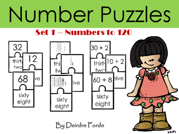 Number Puzzles - Numbers to 120