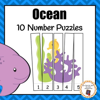 Number Puzzles: Ocean Number Puzzles