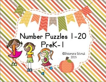 Number Puzzles PreK-1