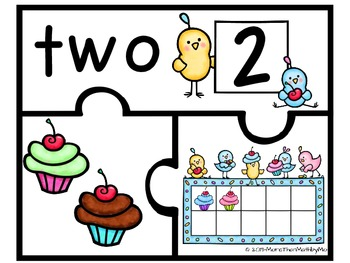 Number Puzzles & Printables {0 - 10}