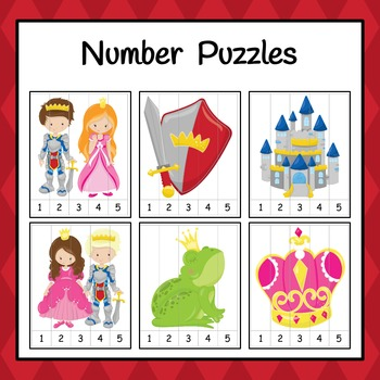 Number Puzzles: Royalty Number Puzzles