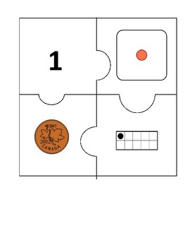 Number Puzzles Set 4 (1 to 20)