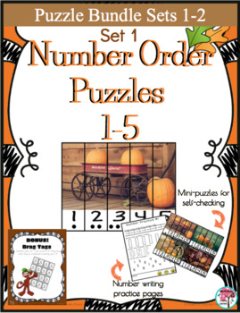 Number Puzzles Sets 1 and 2