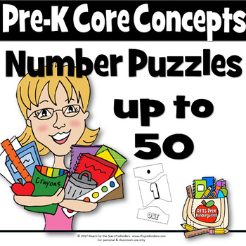 Number Puzzles Up to 50