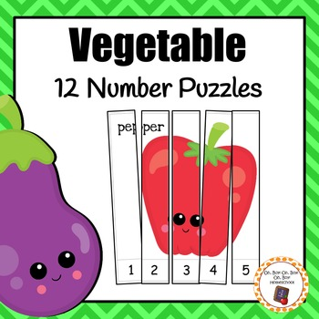 Number Puzzles: Vegetable Number Puzzles