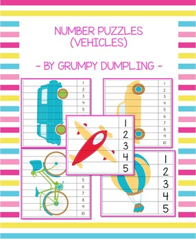 Number Puzzles (Vehicles)
