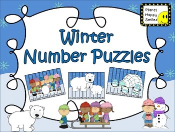 Number Puzzles: Winter
