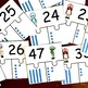 Number Puzzles With Base Ten Blocks for Numbers 20 - 50