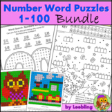 Number Puzzles and Activities Bundle, Numbers 1 to 100 - E