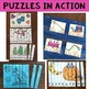 Number Puzzles and Literacy Puzzles - The Bundle