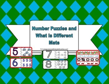 Number Puzzles and What is Different Mats