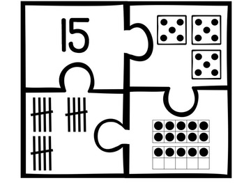 Number Puzzles for 1-20