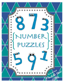 Number Puzzles for 1-20- HOLIDAY Number Puzzles for the WHOLE year!