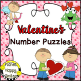 Valentines Day ~ Number Puzzles