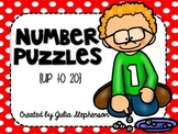 Number Puzzles {Up to 20}
