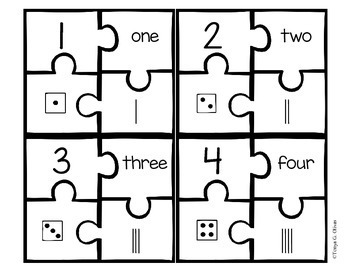 Number Puzzles from 1-20