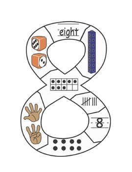 Number Puzzles: numbers 1-10 anchor chart puzzles and playing cards