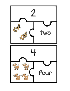 Number Puzzles or Match